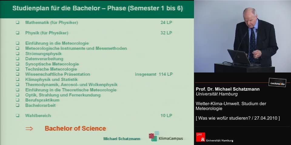 Thumbnail - Studienplan für die Bachelor-Phase (Semester 1 bis 6)