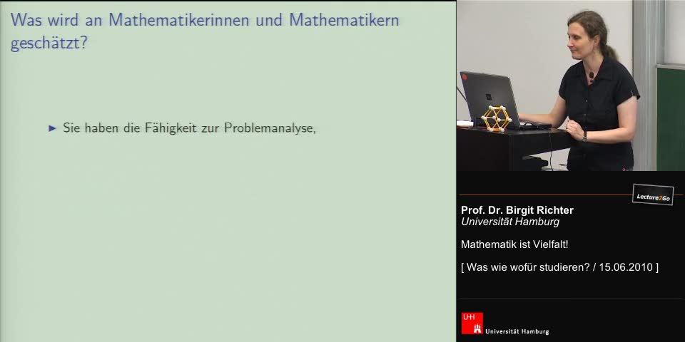 Thumbnail - Was wird an MathematikerInnen geschätzt? Wo arbeiten MathematikerInnen?