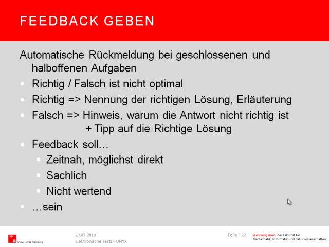 Thumbnail - Feedback geben (Diskussion ONYX)