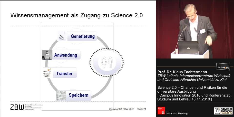 Thumbnail - Wissensmanagement als Zugang zu Science 2.0