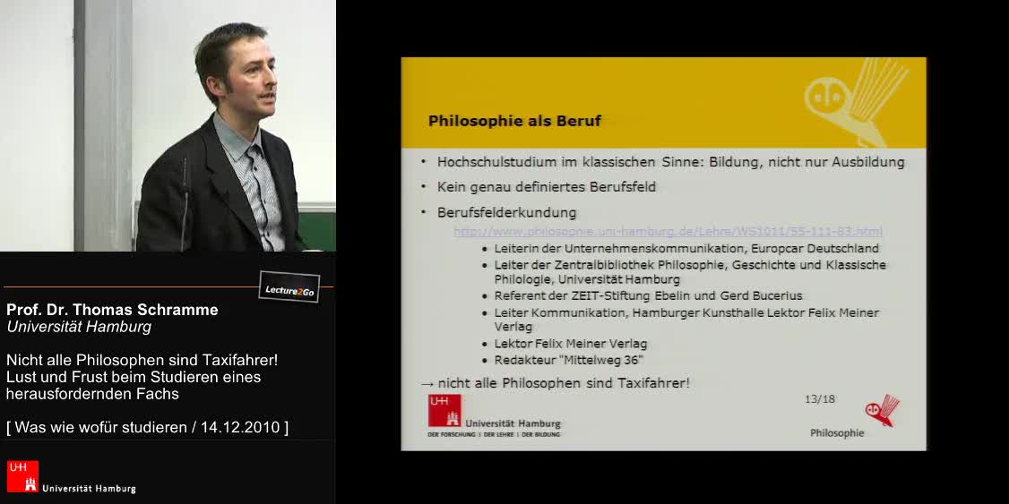 Thumbnail - Philosophie als Beruf, wie läuft das Studium ab? Wer sind wir?