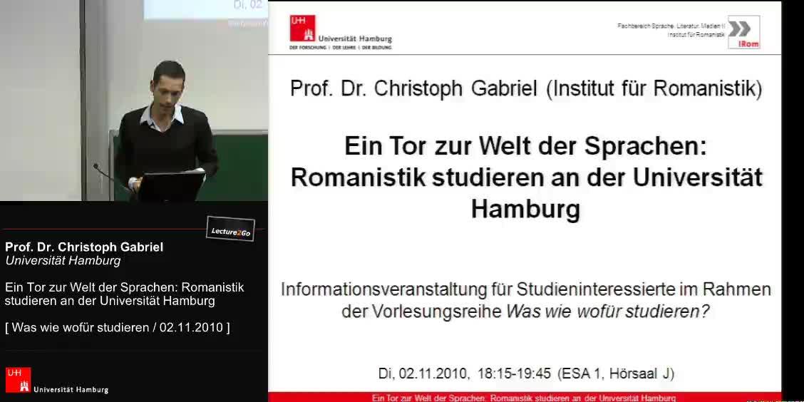 Thumbnail - Einführung in die Romanistik