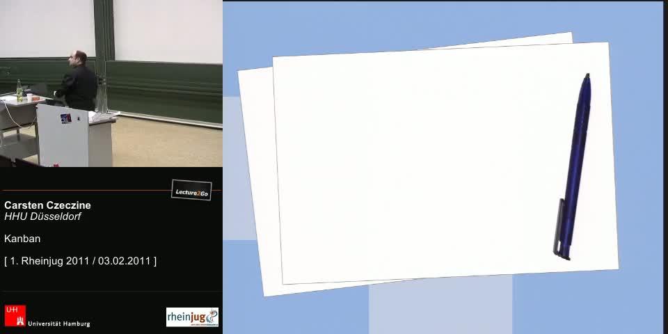 Thumbnail - Papier und Stifte