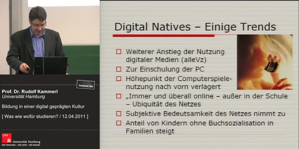 Vorschaubild - Kapitel 3: Digital Natives - Einige Trends