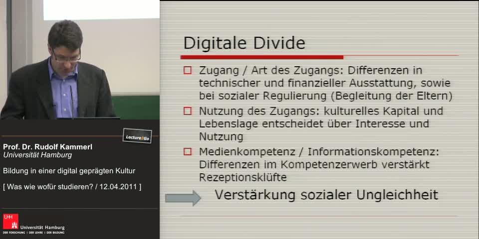 Vorschaubild - Kapitel 4: Digital Divide