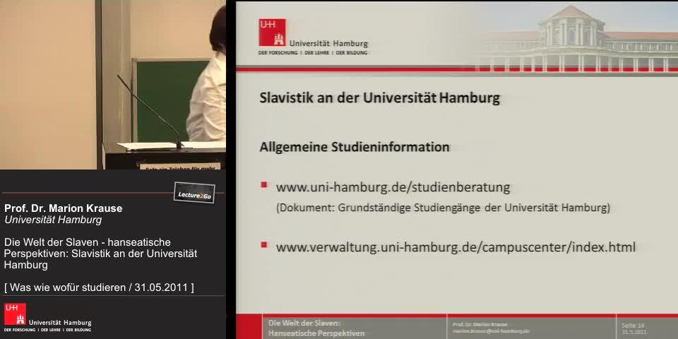 Thumbnail - Allgemeine Studieninformation