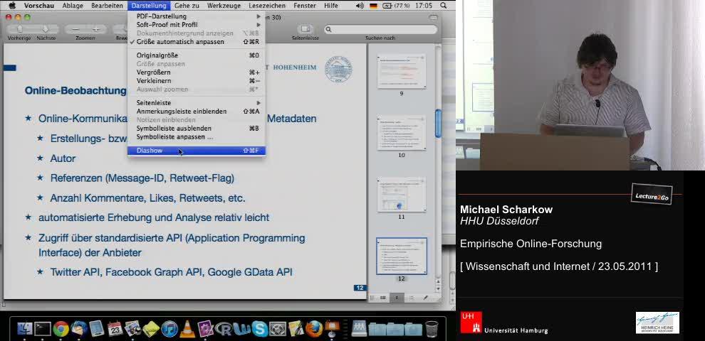 Thumbnail - Online Beobachtung - Metadaten von Inhalten
