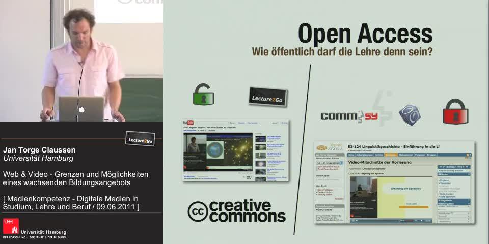 Thumbnail - Open Access - Wie öffentlich darf die Lehre sein?