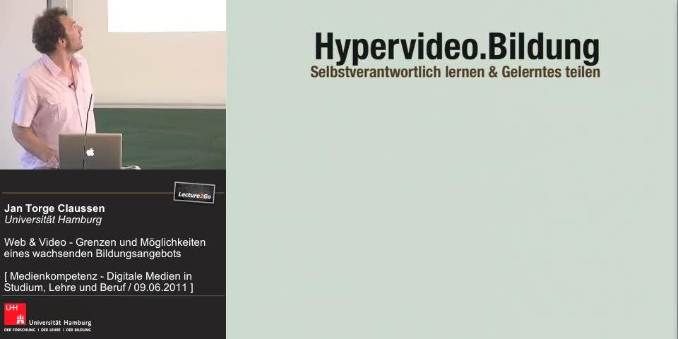 Thumbnail - Hypervideo.Bildung – Selbstverantwortlich lernen. Gelerntes teilen