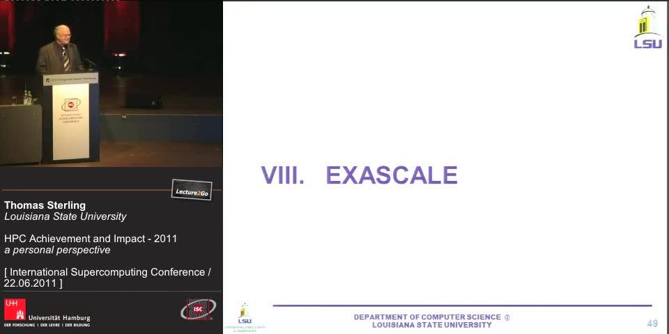 Thumbnail - VIII. Exascale