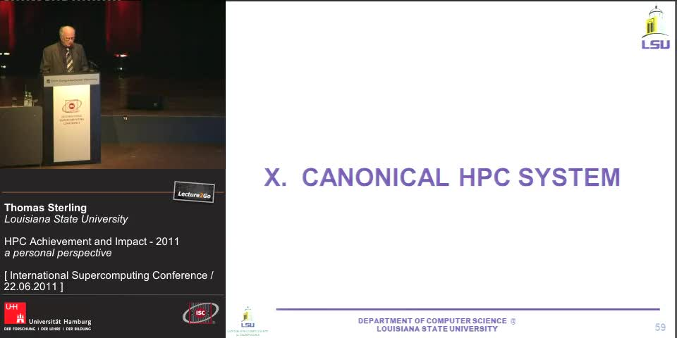 Thumbnail - X. Canonical HPC System