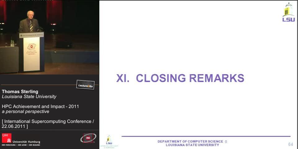 Thumbnail - XI: Closing Remarks