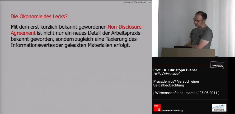 Thumbnail - Die Ökonomie des Lecks?