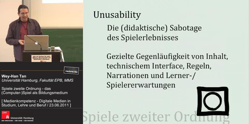 Thumbnail - Spiele zweiter Ordnung: Unusability