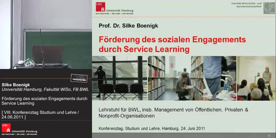 Thumbnail - was ist Service Learning?