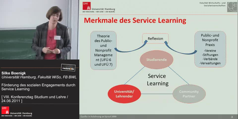 Thumbnail - Merkmale des Service Learning