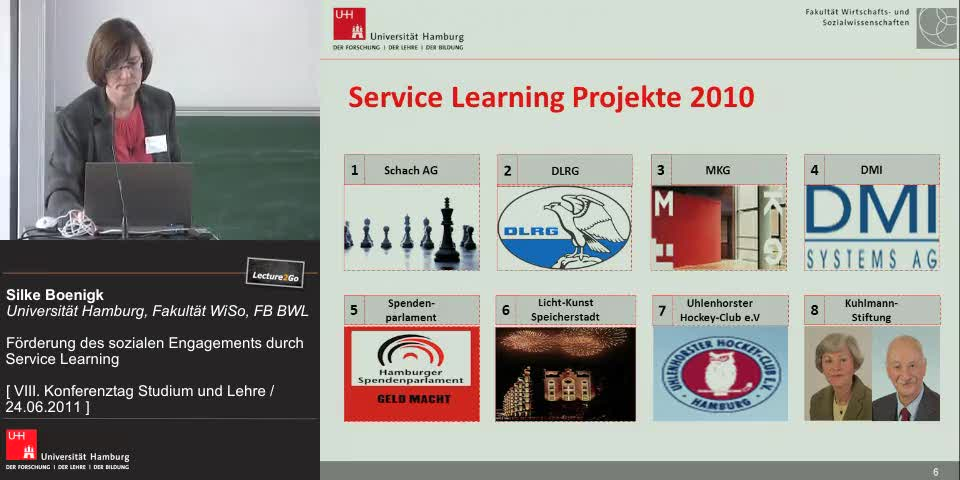 Thumbnail - Service Learning Projekte 2010