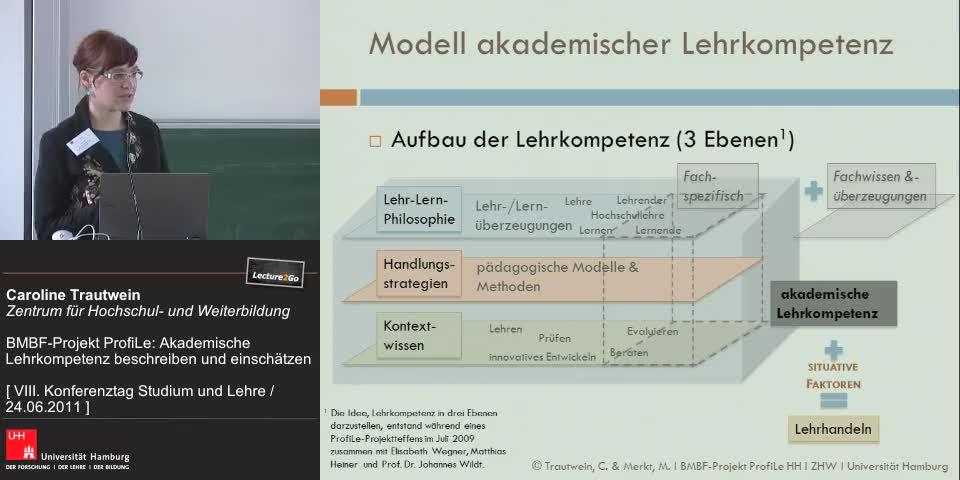 Thumbnail - Modell akademischer Lehrkompetenz