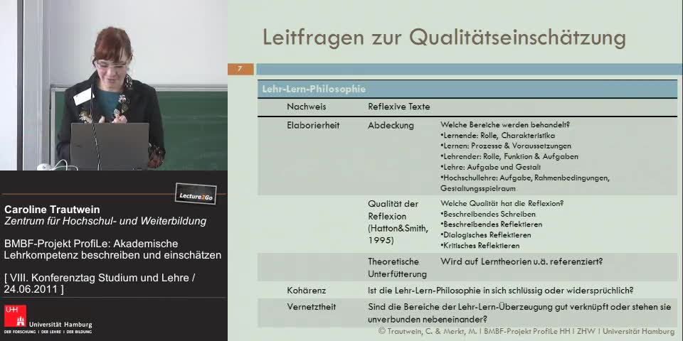 Thumbnail - Leitfragen zur Qualitätseinschätzung