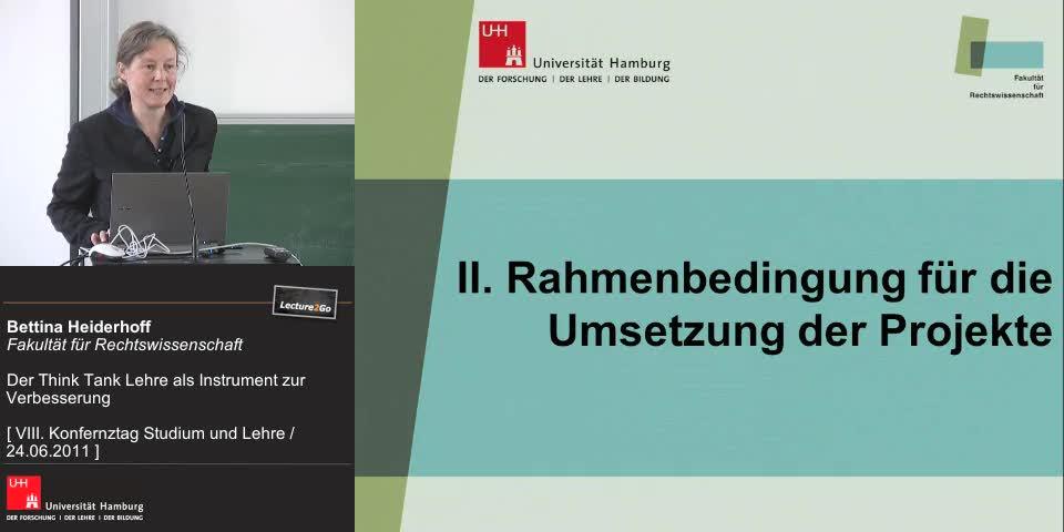 Thumbnail - Rahmenbedingung für die Umsetzung der Projekte