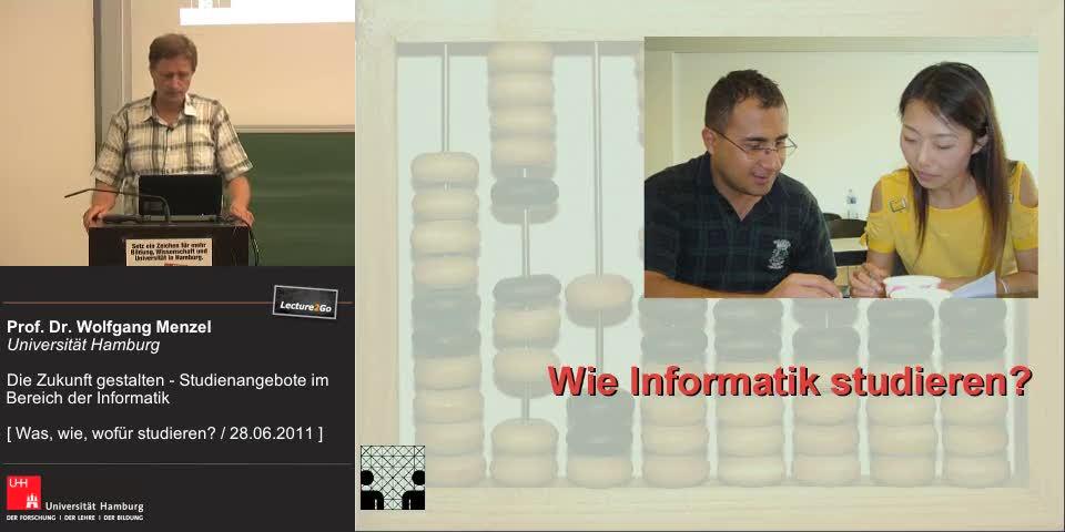 Thumbnail - Wie Informatik studieren? ==>Informatikstudiengänge