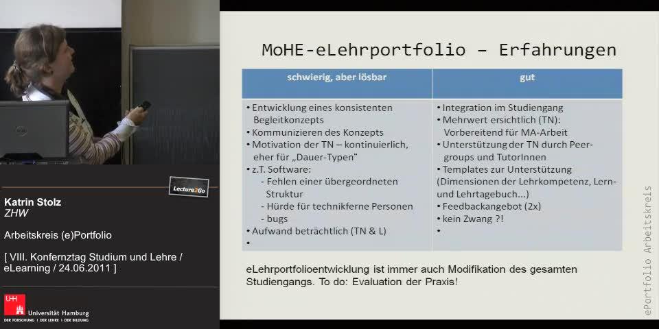 Thumbnail - MoHE - eLehrportfolio - Erfahrungen