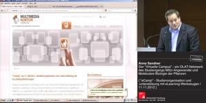 """Miniaturansicht - Der """"Virtuelle Campus"""" - ein OLAT-Netzwerk des Studienganges MSci Angewandte und Molekulare Biologie der Pflanzen"""