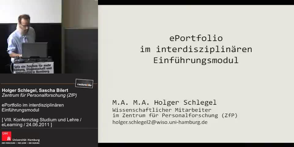 Thumbnail - ePortfolio im interdisziplinären Einführungsmodul