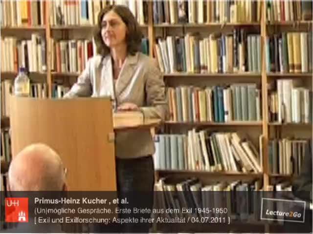 Thumbnail - Einführung durch Prof. Dr. Doerte Bischoff