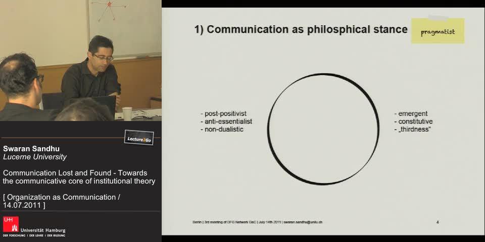 Vorschaubild - CCO´s take on communication