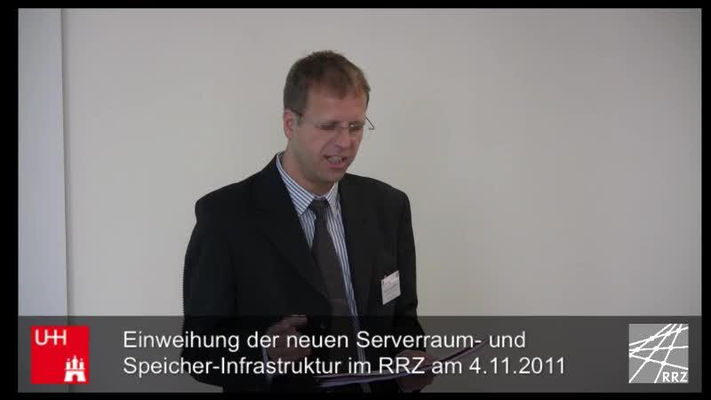 Thumbnail - Moderation: Prof. Dr.-Ing. Stephan Olbrich (Direktor des RRZ)