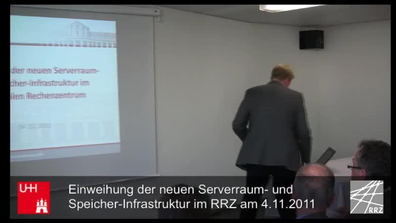 Thumbnail - Der neue Serverraum: Markus Böttger