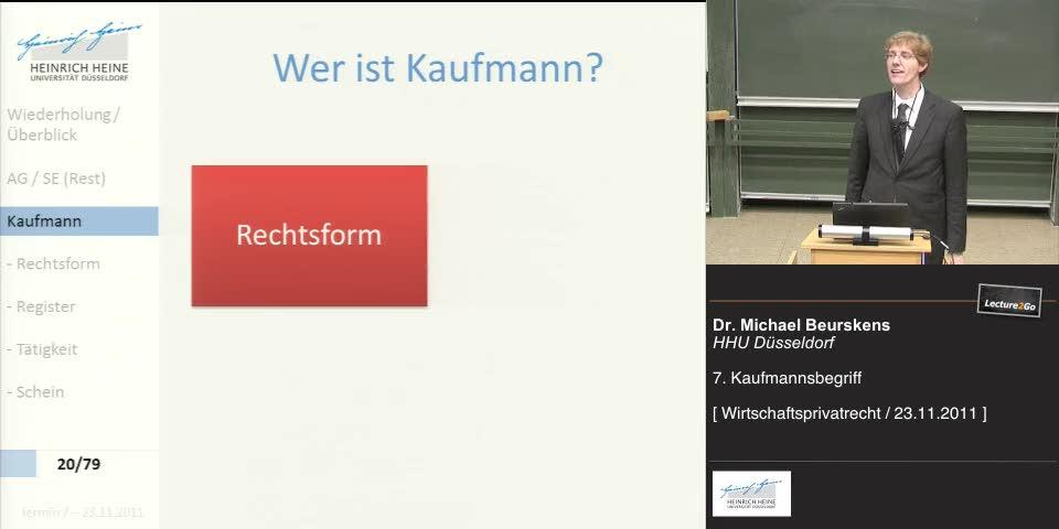 Thumbnail - Kaufmann - Rechtsform
