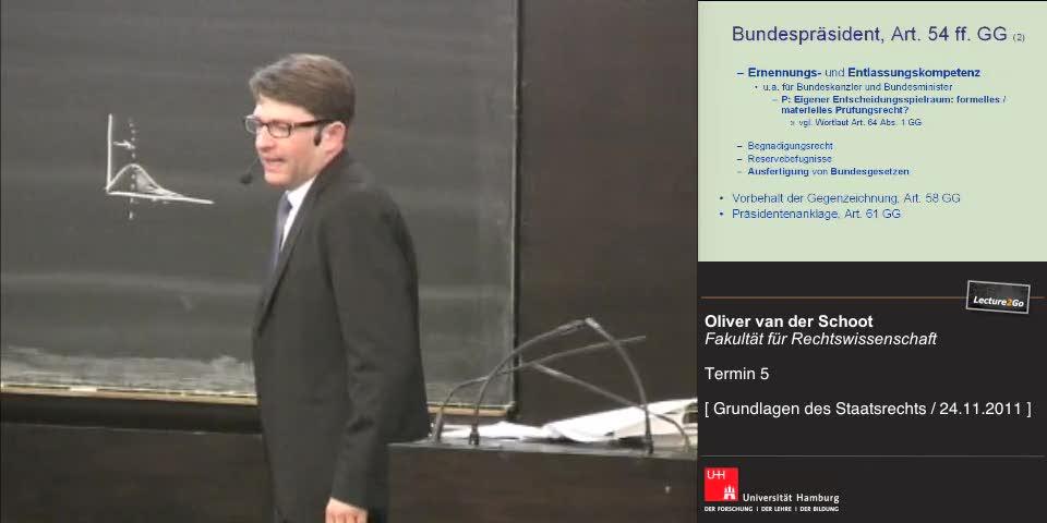 Thumbnail - Bundespräsident, Art. 54 ff. GG (2)