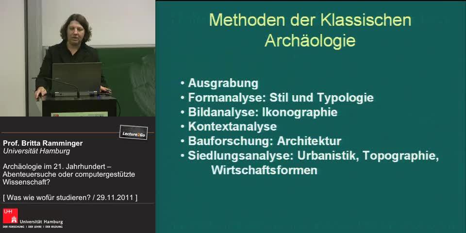 Vorschaubild - Methoden der Klassischen Archäologie