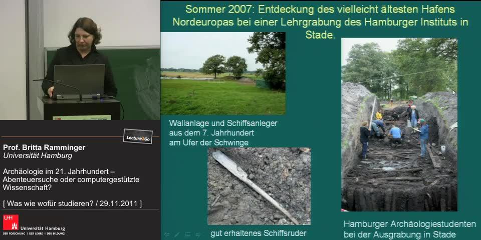 Vorschaubild - Arbeitsbereiche für Archäologen
