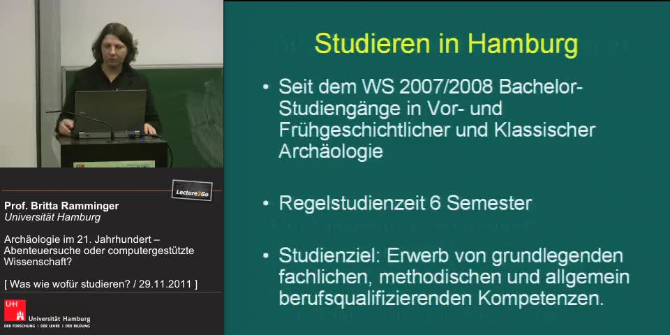 Vorschaubild - Archäologie studieren in Hamburg