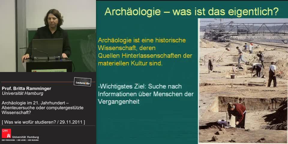 Vorschaubild - Archäologie - was ist das eigentlich wirklich?