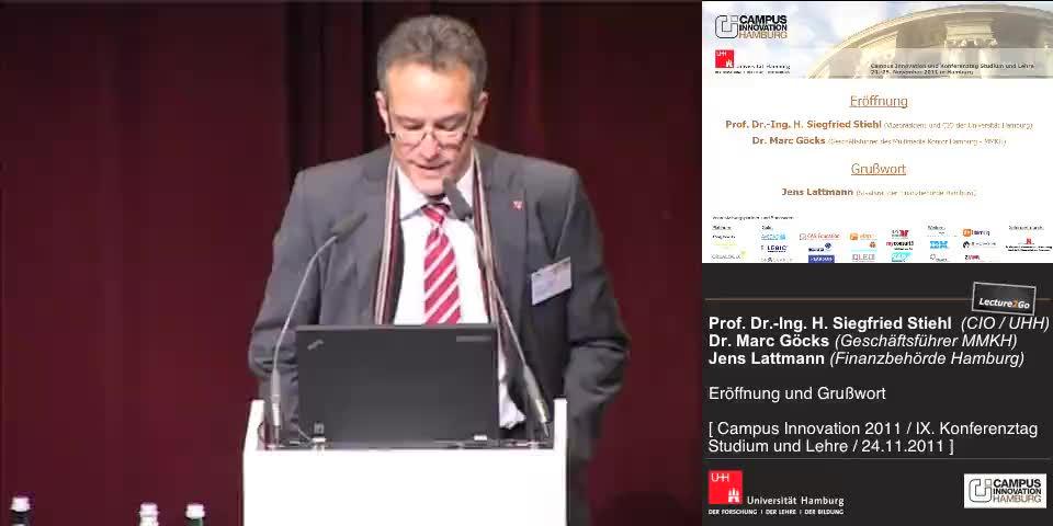 Thumbnail - Prof. Dr.-Ing. H. Siegfried Stiehl (Vizepräsident der Universität Hamburg)