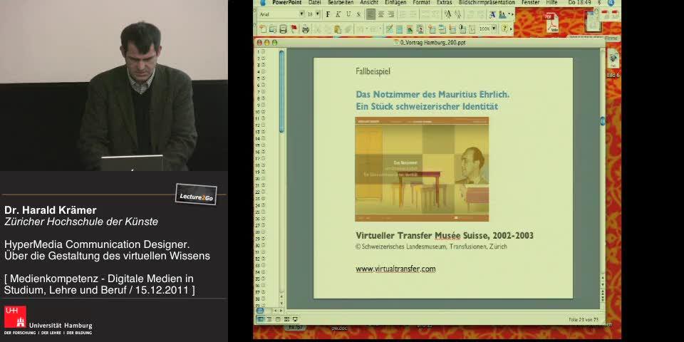 Thumbnail - Fallbeispiel: Das Notzimmer des Mauritius Ehrlich. Ein Stück schweizerischer Identität