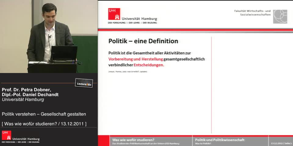 Thumbnail - Politik - eine Definition