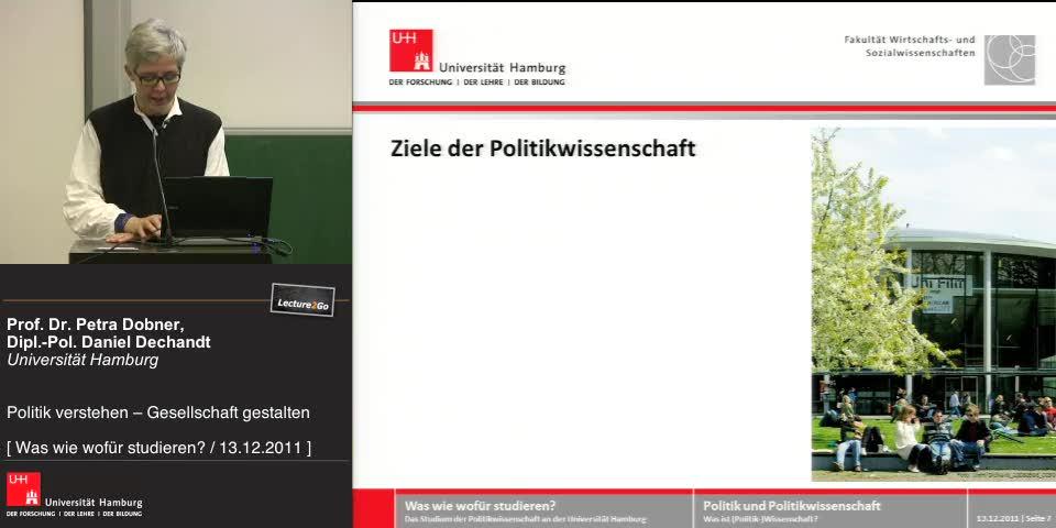 Thumbnail - Ziele der Politikwissenschaft