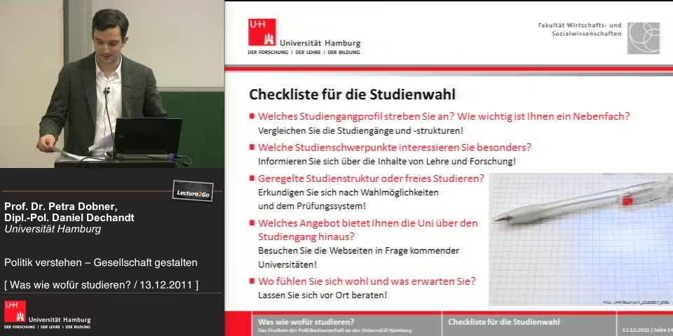 Thumbnail - Checkliste für die Studienwahl