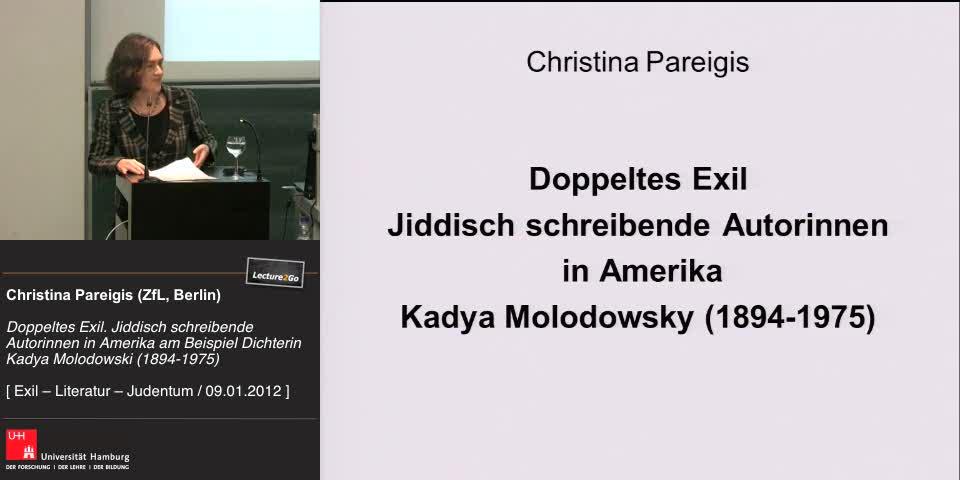Thumbnail - Vortrag von Christina Pareigis