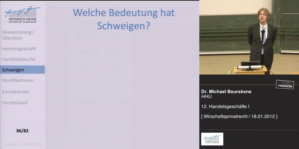 Thumbnail - Schweigen