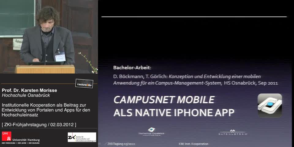 Thumbnail - Campusnet Mobile als native iPhone App