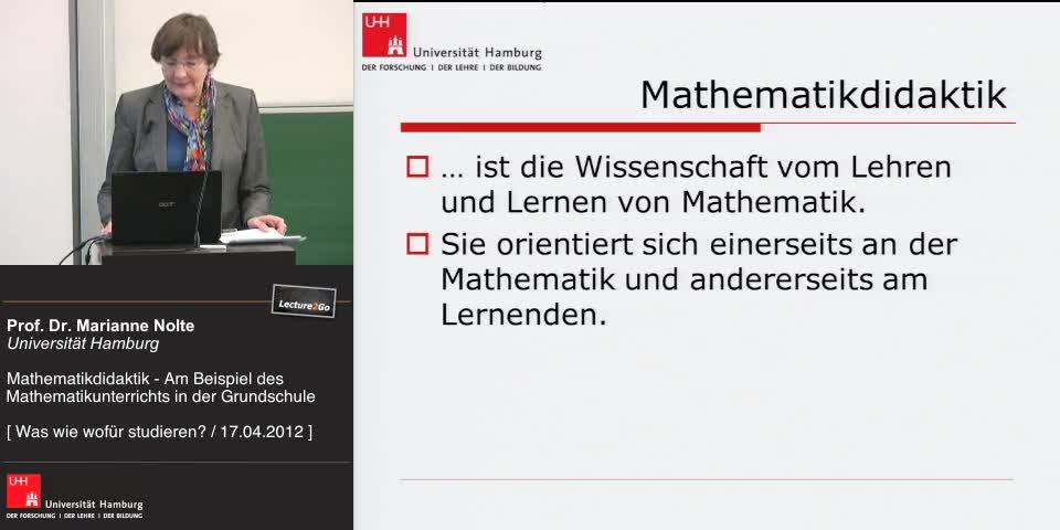 Thumbnail - Bezugswissenschaften der Mathematikdidaktik