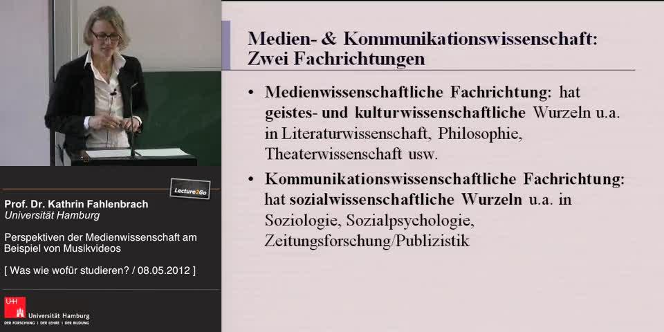Thumbnail - Medien- und Kommunikationswissenschaft: Zwei Fachrichtungen