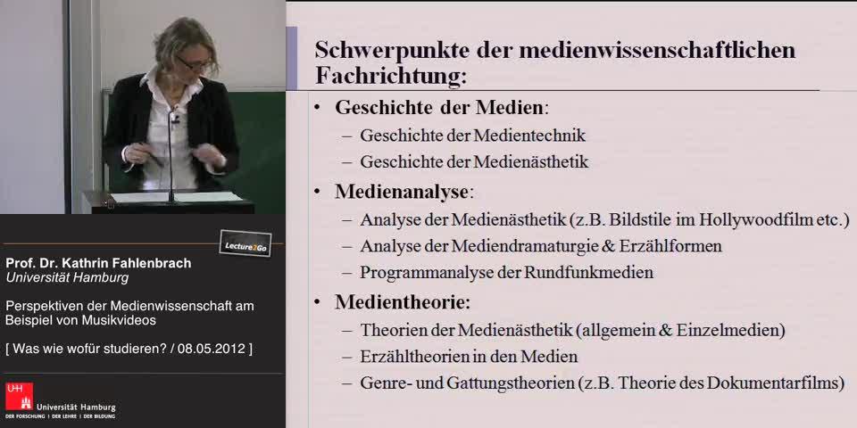 Thumbnail - Schwerpunkte der medienwissenschaftlichen Fachrichtung