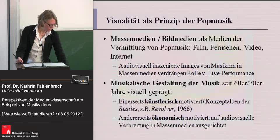 Thumbnail - Visualität als Prinzip der Popmusik